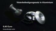 Visor kit aluminium XXR/SS/Crystal