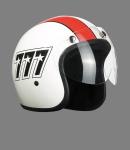 Visor for Jet helmet, short clear