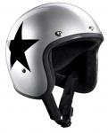 Star Jet, silver w. black star