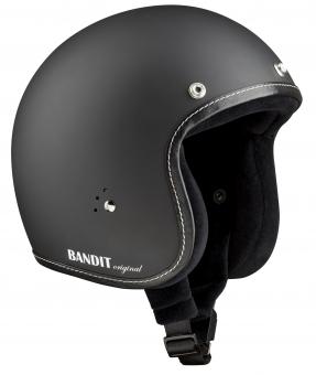 Jet helmet Premium dull black