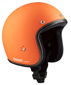 Jet helmet Premium dull orange