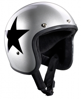 STAR JET silber Gr. S 55/56