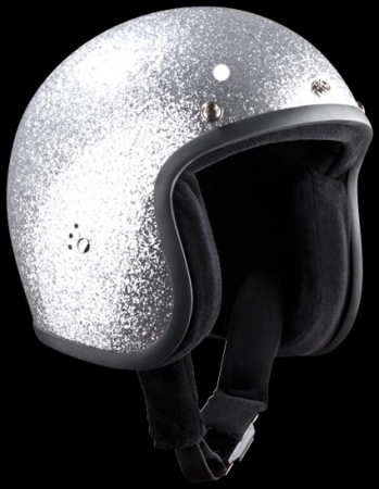 bandit helmets jet metal flake silver online kaufen. Black Bedroom Furniture Sets. Home Design Ideas